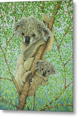 Top Of The Tree Metal Print by Pat Scott