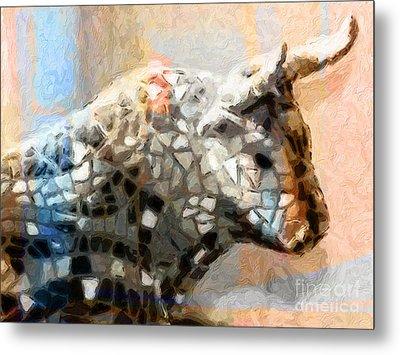 Toro Taurus Bull Metal Print by Lutz Baar