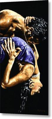 Torrid Tango Metal Print by Richard Young