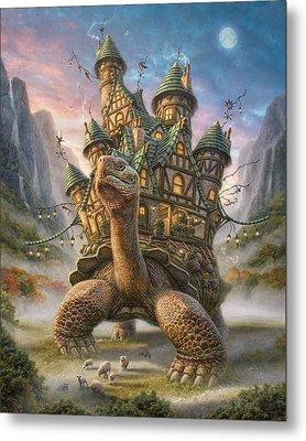 Tortoise House Metal Print by Phil Jaeger