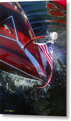 Touch Of Class - Lake Geneva Wisconsin Metal Print by Bruce Thompson