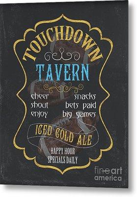 Touchdown Tavern Metal Print by Debbie DeWitt