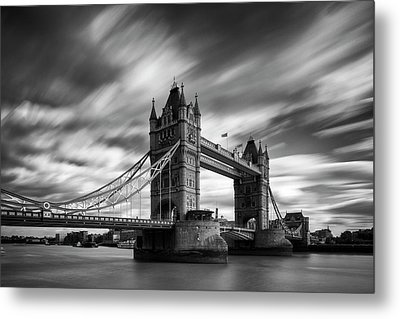 Tower Bridge, River Thames, London, England, Uk Metal Print by Jason Friend Photography Ltd
