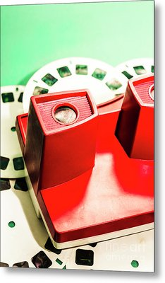 Toy Photo Film Viewer  Metal Print by Jorgo Photography - Wall Art Gallery