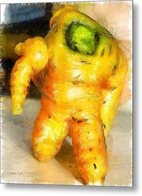 Toy Story Vegetable Version - Da Metal Print by Leonardo Digenio
