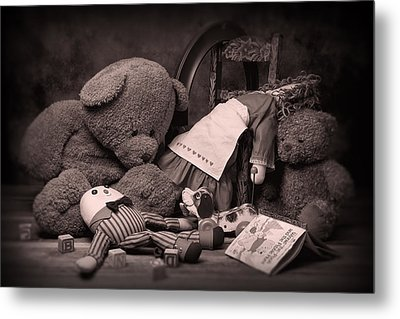 Toys Metal Print by Tom Mc Nemar