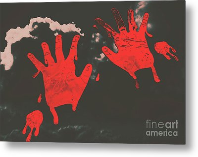 Trace Of A Serial Killer Metal Print by Jorgo Photography - Wall Art Gallery
