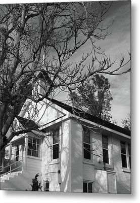 Traditional Country Church Metal Print by Glenn McCarthy Art and Photography