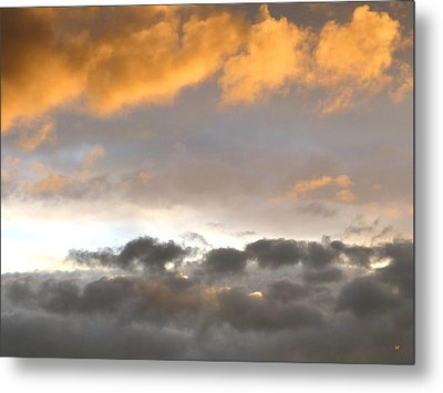Tranquil Cloudscape Metal Print by Will Borden