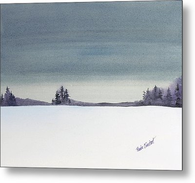 Tranquil Night Metal Print by Renee Chastant