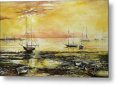 Tranquil Tide Metal Print by Andrew Read
