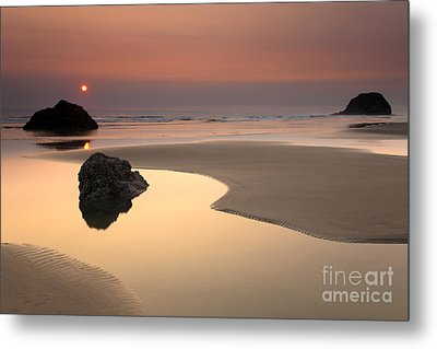 Tranquility Metal Print by Mike  Dawson