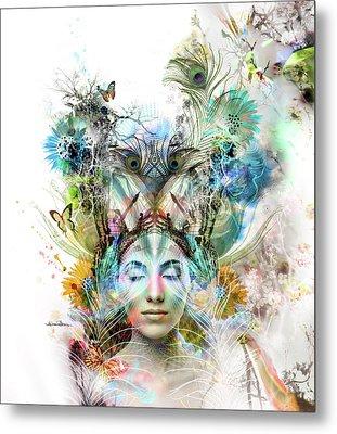 Transcendence Metal Print by Misprint