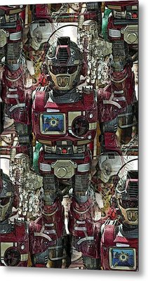 Transformique For Sale Metal Print by Gwyn Newcombe