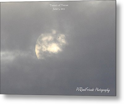 Transit Of Venus Metal Print by PJQandFriends Photography
