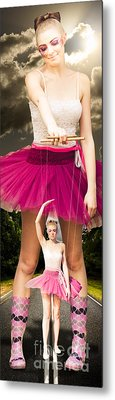 Travel Down Your Own Road And Dance To Your Own Beat Metal Print by Jorgo Photography - Wall Art Gallery