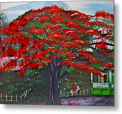 Treasures Of Puerto Rico Metal Print by Gloria E Barreto-Rodriguez