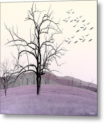 Tree Change Metal Print by Holly Kempe