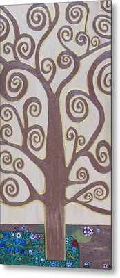Tree Of Life Metal Print by Angelina Vick
