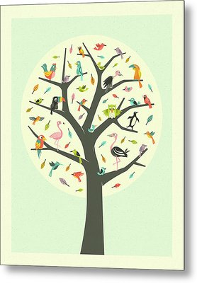 Tree Of Life Metal Print by Jazzberry Blue