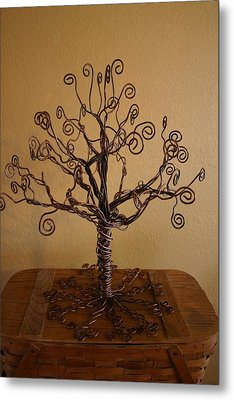 Tree Of Life Metal Print by Shawna Dockery