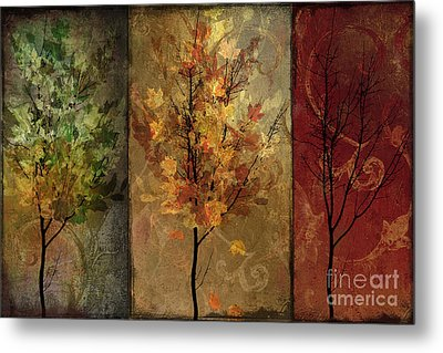 Tree Story Metal Print by Mindy Sommers