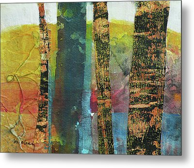 Trees Metal Print by Melody Cleary