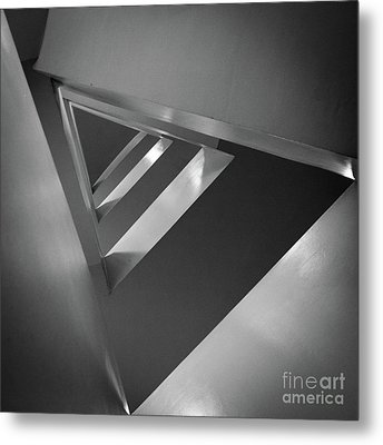 Triangular Metal Print by Inge Johnsson