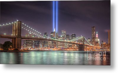 Tribute In Light IIi Metal Print by Clarence Holmes