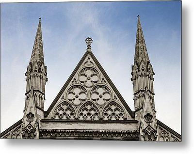 Trio At Westminster Metal Print by Christi Kraft