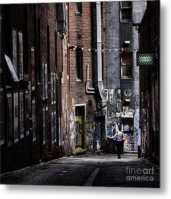 Tryst Metal Print by Andrew Paranavitana