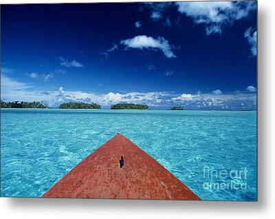 Tuamotu Islands, Raiatea Metal Print by William Waterfall - Printscapes