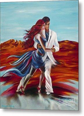 Tucson Tango Metal Print by Summer Celeste