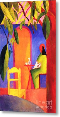 Turkish Cafe II Metal Print by Pg Reproductions