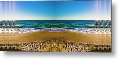 Turn The Page Metal Print by Betsy Knapp