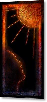 Turn Your Eyes Metal Print by Shevon Johnson