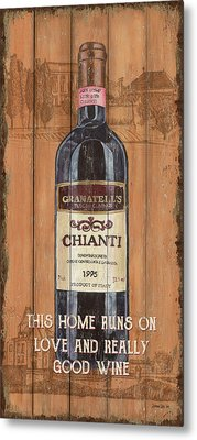 Tuscan Chianti 2 Metal Print by Debbie DeWitt