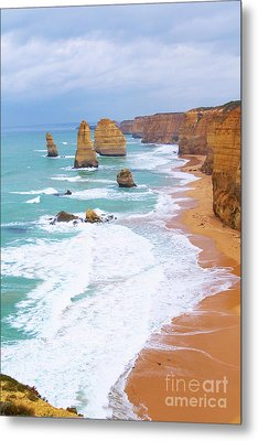 Twelve Apostles Metal Print by Fir Mamat