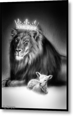 Ultimate Inspiration-god's Plan Of Love Metal Print by Ronald Barba
