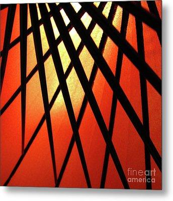 Umbrella 1 Metal Print by CML Brown