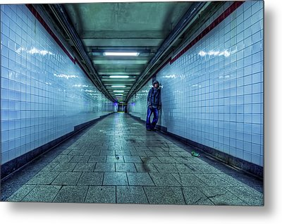 Underground Inhabitants Metal Print by Evelina Kremsdorf