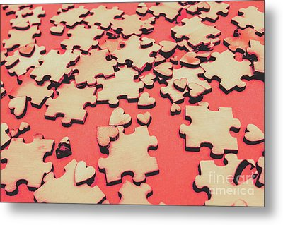 Unfinished Hearts Metal Print by Jorgo Photography - Wall Art Gallery