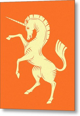 Unicorn Metal Print by Jazzberry Blue