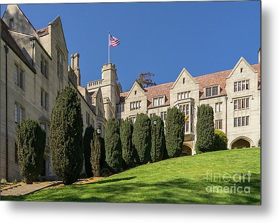 University Of California Berkeley Historical Bowles Hall College Dormatory Dsc4733 Metal Print by Wingsdomain Art and Photography