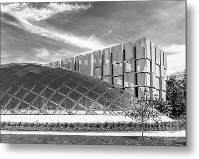University Of Chicago Mansueto Library Metal Print by University Icons