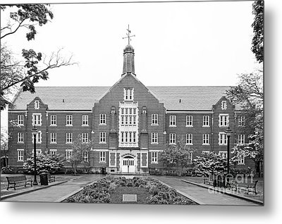 University Of Connecticut Whitney Hall Metal Print by University Icons