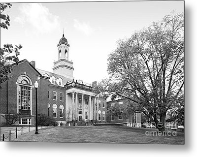University Of Connecticut Wilbur Cross Building Metal Print by University Icons