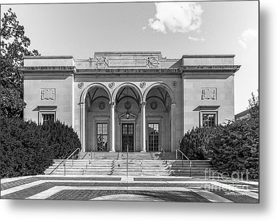 University Of Michigan Clements Library Metal Print by University Icons