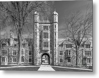 University Of Michigan Law Quad Metal Print by University Icons