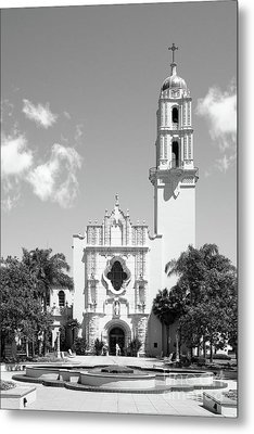 University Of San Diego The Church Of The Immaculata Metal Print by University Icons